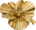 Estate Jewelry:Brooches - Pins, Gold Clip-Brooch, Tiffany & Co.. ...
