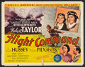 "Movie Posters:War, Flight Command (MGM, 1940). Half Sheet (22"" X 28""). War.. ..."