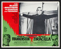 "Scars of Dracula/Horror of Frankenstein Combo (American Continental Films Inc., 1971). Lobby Card Set of 8 (11"" X 1..."