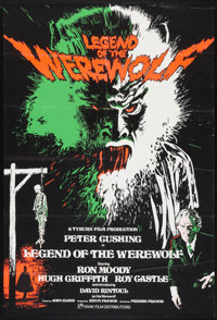 "Legend of the Werewolf (Rank, 1975). British One Sheet (27"" X 40""). Horror"