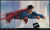 """Superman the Movie (Warner Brothers, 1978). Soundtrack Poster (35.5"""" X 60""""). Action"""