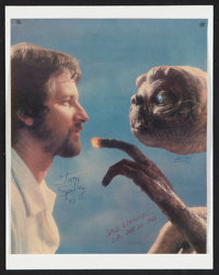 """E.T. The Extra-Terrestrial (Universal, 1982). Autographed Magazine Page (10.25"""" X 12.5""""). Science Fiction"""