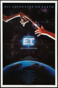 """E.T. The Extra-Terrestrial (Universal, 1982). One Sheet (27"""" X 41""""). Science Fiction"""