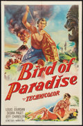 "Movie Posters:Adventure, Bird of Paradise (20th Century Fox, 1951). One Sheet (27"" X 41"").Adventure.. ..."