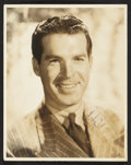 """Movie Posters:Miscellaneous, Fred MacMurray (Late 1930s). Autographed Portrait (11"""" X 14"""").Miscellaneous.. ..."""