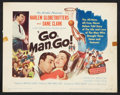 "Movie Posters:Sports, Go, Man, Go Lot (United Artists, 1954). Title Lobby Card (11"" X 14"") and Lobby Cards (9) (11"" X 14""). Sports.. ... (Total: 10 Items)"