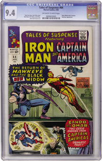 Tales of Suspense #64 (Marvel, 1965) CGC NM 9.4 Off-white to white pages