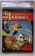 Golden Age (1938-1955):Superhero, All-American Comics #61 (DC, 1944) CGC FN 6.0 Off-white to white pages....