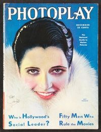 "Photoplay (Photoplay Publishing, 1930). Magazine (8.75"" X 11"", Multiple Pages). Miscellaneous"