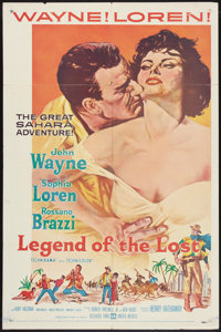 """Legend of the Lost (United Artists, 1957). One Sheet (27"""" X 41"""") & Lobby Card Set of 8 (11"""" X 14&..."""