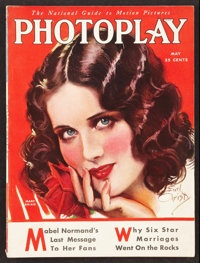 """Photoplay (Photoplay, 1930). Magazine (8.75"""" x 11.5"""", Multiple Pages). Miscellaneous"""