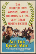 "Movie Posters:Academy Award Winners, All the King's Men (Columbia, 1949). One Sheet (27"" X 41""). Academy Award Winners.. ..."