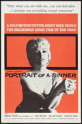 "Movie Posters:Bad Girl, Portrait of a Sinner (American International, 1961). One Sheet (27""X 41""). Bad Girl.. ..."