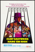 "Movie Posters:Western, Hang 'Em High (United Artists, 1968). One Sheet (27"" X 41"").Western.. ..."
