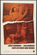 "Movie Posters:Drama, Days of Wine and Roses (Warner Brothers, 1963). One Sheet (27"" X41""). Drama.. ..."