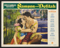 "Movie Posters:Adventure, Samson and Delilah (Paramount, 1949). Lobby Card (11"" X 14"").Adventure.. ..."