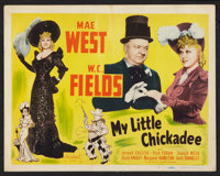 """My Little Chickadee (Realart, R-1948). Title Lobby Card and Lobby Card (11"""" X 14""""). Comedy. ... (Total: 2 Item..."""