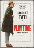 "Movie Posters:Comedy, Playtime (Unidis, 1967). Italian 4 - Foglio (55"" X 78""). Comedy.. ..."