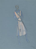 Fine Art - Work on Paper:Drawing, ADRIAN (ADRIAN GREENBERG) (American, 1903-1959). Camelot, TwoCostume Designs for the Stage Production, 1959. Mixed medi...(Total: 2 Items)