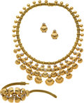 Estate Jewelry:Suites, Diamond, Gold Jewelry Suite. ...