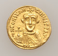 Ancients:Byzantine, Ancients: Constans II. 641-668. AV solidus...