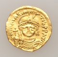Ancients:Byzantine, Ancients: Maurice Tiberius. 582-602. AV solidus...