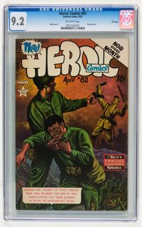 Heroic Comics #82 File Copy (Eastern Color, 1953) CGC NM- 9.2 Off-white pages
