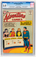 Silver Age (1956-1969):Superhero, Adventure Comics #247 (DC, 1958) CGC GD/VG 3.0 Cream to off-white pages....