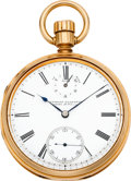 Timepieces:Pocket (pre 1900) , Charles Frodsham Presentation Gold Lever Fusee With Wind Indicator,circa 1865. ...