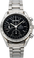 Timepieces:Wristwatch, Omega Speedmaster Automatic Chronograph, circa 1980's. ...