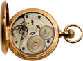 Timepieces:Pocket (pre 1900) , J. Assman Dresden Gold Pocket Watch, circa 1881. ...