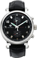 Timepieces:Wristwatch, Martin Braun Tracer Chrono B Wristwatch, No. 030. ...