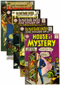 Silver Age (1956-1969):Horror, House of Mystery Group (DC, 1963-70) Condition: Average VG/FN....(Total: 5 Comic Books)