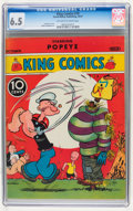 Platinum Age (1897-1937):Miscellaneous, King Comics #19 (David McKay Publications, 1937) CGC FN+ 6.5Off-white to white pages....