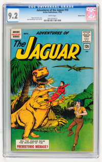 Adventures of the Jaguar #10 Western Penn pedigree (Archie, 1962) CGC NM- 9.2 White pages