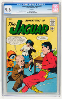 Adventures of the Jaguar #12 Western Penn pedigree (Archie, 1963) CGC NM+ 9.6 White pages