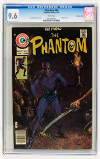 Phantom #69 Western Penn pedigree (Charlton, 1976) CGC NM+ 9.6 White pages
