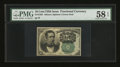 Fractional Currency:Fifth Issue, Fr. 1264 10¢ Fifth Issue PMG Choice About Unc 58 EPQ....