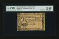 Colonial Notes:South Carolina, South Carolina December 23, 1776 $3 Remainder PMG Choice About Unc58 EPQ....