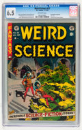 Golden Age (1938-1955):Horror, Weird Science #22 (EC, 1953) CGC FN+ 6.5 Off-white pages....