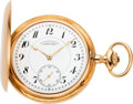 Timepieces:Pocket (post 1900), A. Lange & Sohne Fine Gold Pocket Watch, circa 1915. ...