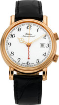Timepieces:Wristwatch, Waldan International Rose Gold Wrist Alarm Wristwatch, circa 2003....