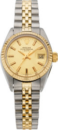 Timepieces:Wristwatch, Rolex Lady's Ref. 6917 Two Tone Datejust, circa 1980. ...