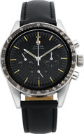 Timepieces:Wristwatch, Omega Speedmaster ST 105003 Steel Chronograph, circa 1965. ...