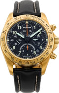 Timepieces:Wristwatch, Fortis Gold Official Cosmonauts Automatic Chronograph Wristwatch. ...