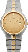 Timepieces:Wristwatch, Vacheron Constantin Steel & Gold Phidias Automatic Wristwatch,circa 1990's. ...