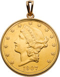 Timepieces:Pocket (post 1900), Cartier $20 Gold Coin Watch By European Watch & Clock Co.,circa 1930's. ...