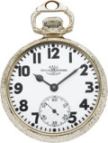 Timepieces:Pocket (post 1900), Ball Watch Co. 23 Jewel Official Railroad Standard by Hamilton,circa 1915. ...