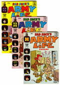 Silver Age (1956-1969):Humor, Sad Sack's Army Life #1-61 File Copies Group (Harvey, 1963-76) Condition: Average VF+.... (Total: 61 Comic Books)