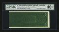Error Notes:Inking Errors, Fr. 1922-L $1 1995 Federal Reserve Note. PMG Extremely Fine 40 EPQ.. ...